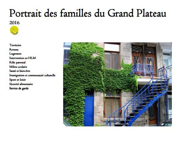 """""""Portrait des familles du Grand Plateau"""""""